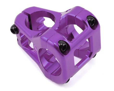 Deity Cavity Stem (Purple) (31.8mm Clamp) (35mm) (0°)