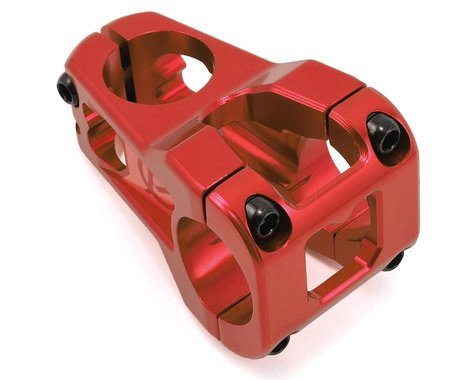Deity Cavity Stem (Red) (31.8mm Clamp) (50mm) (0°)