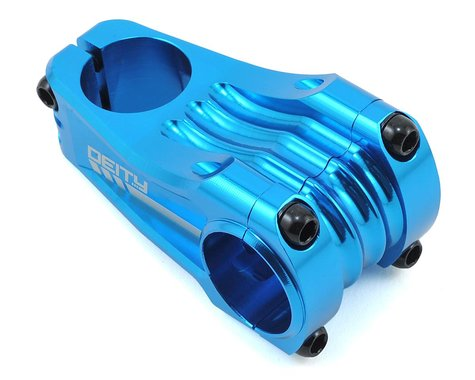 Deity Copperhead Stem (Blue) (31.8mm Clamp) (65mm) (0°)