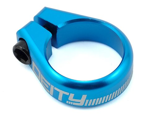 Deity Circuit Seatpost Clamp (31.8mm) (Blue)