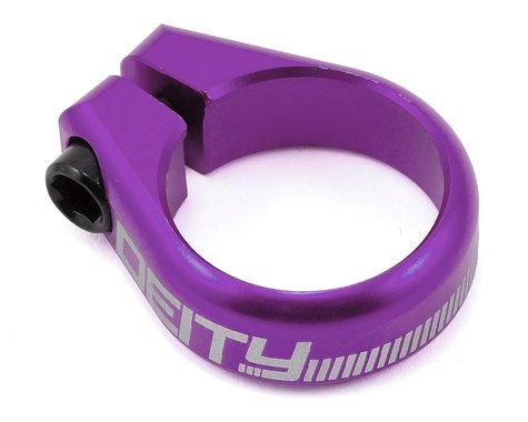 Deity Circuit Seatpost Clamp (Purple) (31.8mm)