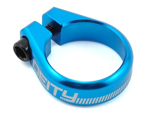 Deity Circuit Seatpost Clamp (Blue) (34.9mm)