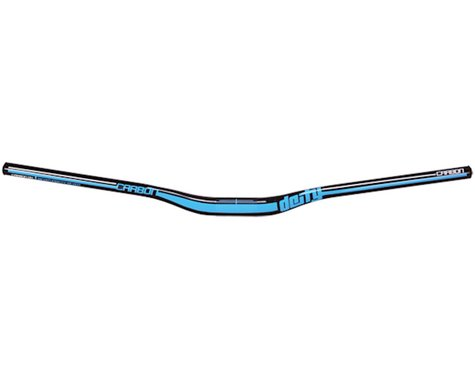 Deity DC31 Mohawk Carbon Handlebar (Black/Blue) (31.8mm)