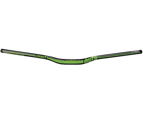 Deity DC31 Mohawk Carbon Handlebar (Black/Green) (31.8mm) (25mm Rise) (787mm)