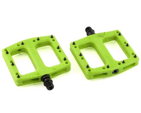"Deity Deftrap Pedals (Green) (9/16"")"