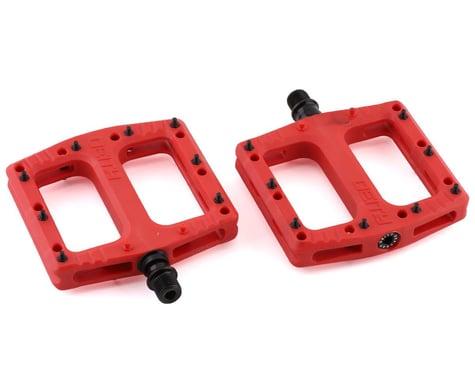 """Deity Deftrap Pedals (Red) (9/16"""")"""