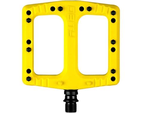 "Deity Deftrap Pedals (Yellow) (9/16"")"