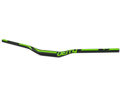 Deity Ridgeline Handle Bar (Green) (35.0mm) (25mm Rise) (800mm)
