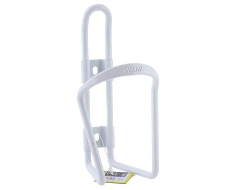 Delta Water Bottle Cage (White)
