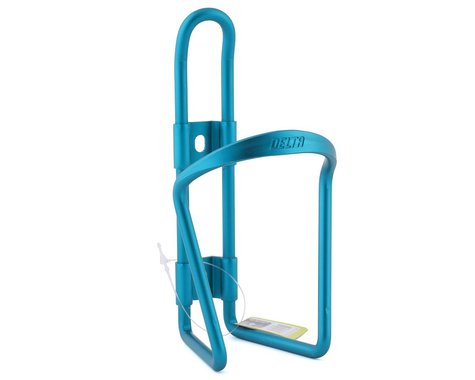 Delta Water Bottle Cage (Teal Anodized)