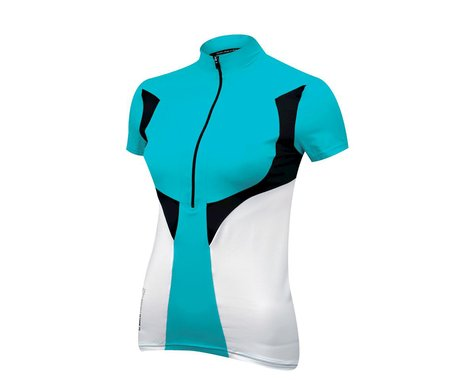 De Marchi Women's CL Short Sleeve Jersey (Blue)