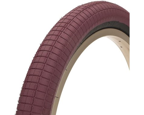 "Demolition Hammerhead-S Tire (Mike Clark) (Maroon/Black) (20"") (2.4"")"