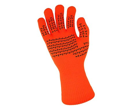 DexShell Waterproof ThermFit Neo Gloves (Orange) (S)