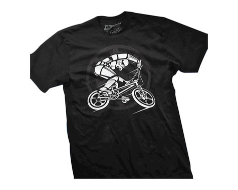 Dhdwear BMX Trooper T-Shirt (Black) (L)