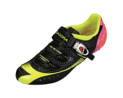 Diadora Speedracer 2 Carbon Road Shoes (Black)