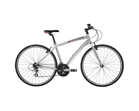 Diamondback Clarity 1 Women's Flat Bar Road Bike - 2016 (Silver) (Large)