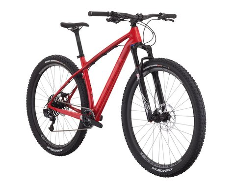 Diamondback Overdrive Carbon Pro 29er Mountain Bike - 2017 (Red) (Xlarge)