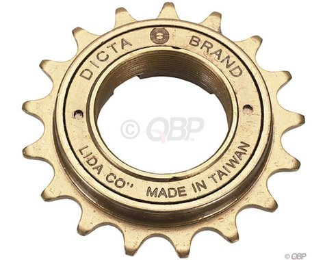 "Dicta 3/32"" Freewheel (Gold) (18T)"