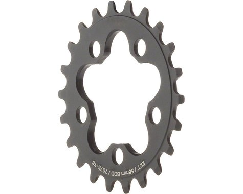 Dimension Inner Chainring (Black) (58mm BCD) (22T)