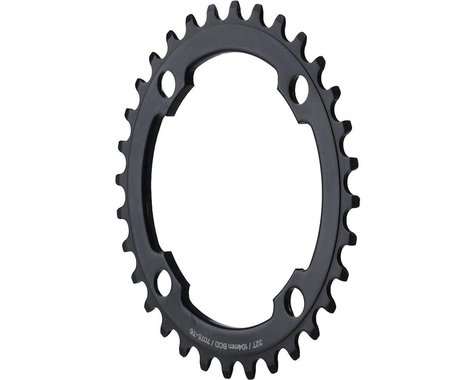 Dimension Middle Chainring (Black) (104mm BCD) (34T)