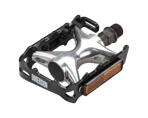 Dimension Compe Pedals (Black/Silver)