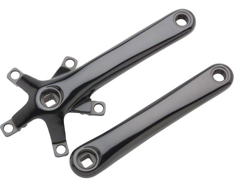 Dimension 110 Crank Arm Set w/ Bolts (Black) (175mm)