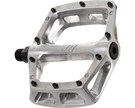 """DMR V8 Pedals, 9/16"""" Alloy Platform Polished Silver"""