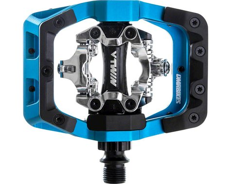 "DMR V-Twin Clipless Pedals (Blue) (9/16"")"