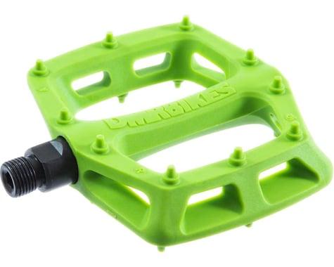 """DMR V6 Pedals, 9/16"""" Plastic Platform Green"""