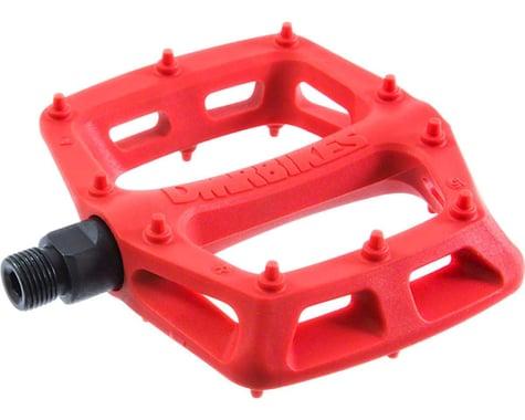 """DMR V6 Pedals, 9/16"""" Plastic Platform Red"""