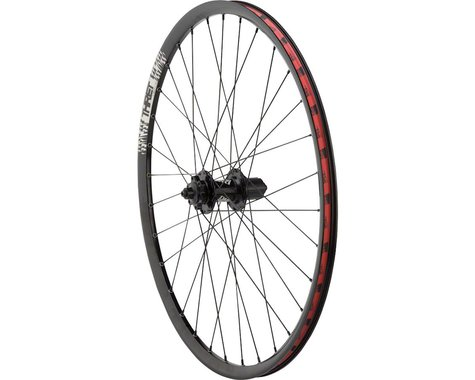 "DMR Pro Rear Wheel - 26"", 10 x 1 x 135mm, 6-Bolt, HG 10, Black, Clincher"