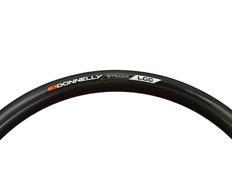 Donnelly Sports Strada LGG Tire - 700 x 28, Clincher, Steel, Black, 60tpi