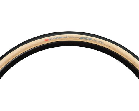 Donnelly Sports Strada LGG Tire - 700 x 32, Clincher, Folding, Black/Tan, 60tpi