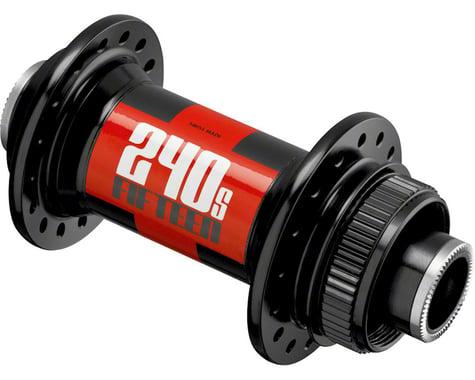 DT Swiss 240s Front Hub - 15 x 110mm, Center Lock Disc, 32h, Black/Red