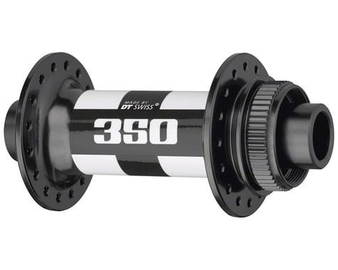 DT Swiss 350 Front Hub - 15 x 110mm, Center Lock Disc, 28h, Black/White