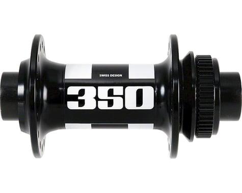 DT Swiss 350 Front Hub: 32h, 15mm Thru Axle, Center Lock Disc