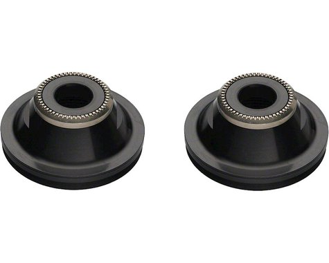 DT Swiss 20mm to 9mm Thru Bolt Conversion End Cap Pair for 240 Front Hubs