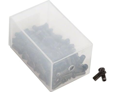 DT Swiss Pro Head 2.0 x 12mm Black Brass Nipple, Box of 100