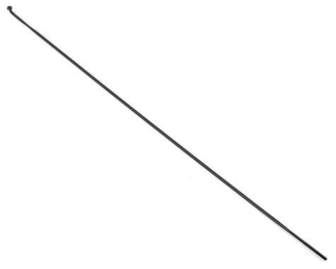DT Swiss Aerolite Spoke: 2.0mm, Bladed, 296mm, J-bend, Black, Each