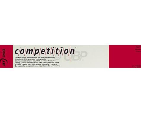 DT Swiss Competition J-bend Spoke (Silver) (2.0/1.8/2.0mm) (293mm)
