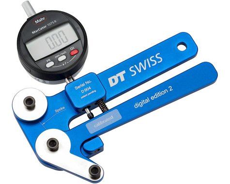 DT Swiss Digital Tensiometer w/ Case & Conversion Charts