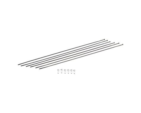 DT Swiss ER1600 DiCut 21 DB Spoke Kit (Black) (Front & Rear)