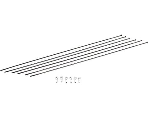 DT Swiss PRC1100 DiCut 35 DB Spoke Kit (Black) (Front & Rear)