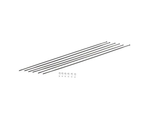 DT Swiss PR1400 DiCut Oxic Spoke Kit: Front & Rear, Black