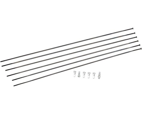 DT Swiss PRC 1400 Spline 35 Spoke Kit (Black) (Front & Rear)