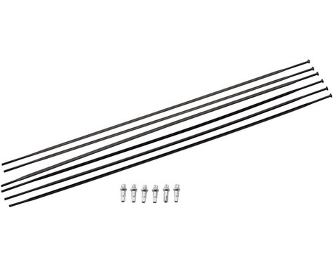 DT Swiss PR 1600 Spline 32 Spoke Kit (Black) (Front & Rear)