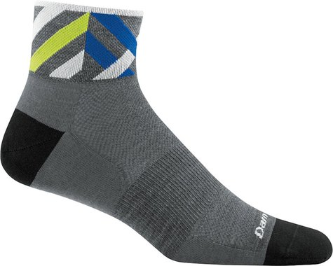 Darn Tough Vermont Graphic 1/4 Ultra Light Men's Sock (Grey)