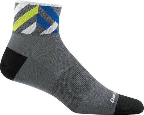 Darn Tough Vermont Graphic 1/4 Ultra Light Men's Sock (Grey) (M)