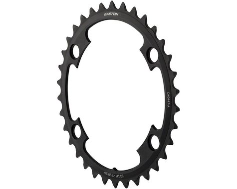 Easton Asyemetric 4-Bolt Inner Chainring (Black) (110mm BCD)