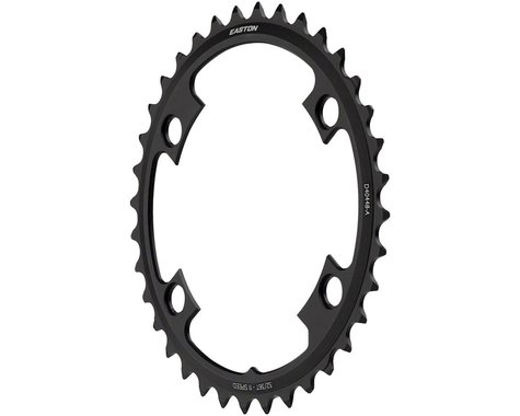 Easton Asyemetric 4-Bolt Inner Chainring (Black) (110mm BCD) (36T)